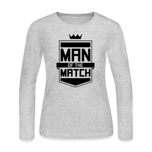 Man of the Match - Women's Long Sleeve Jersey T-Shirt
