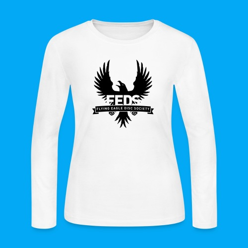 Flying Eagle Disc Society - Women's Long Sleeve Jersey T-Shirt
