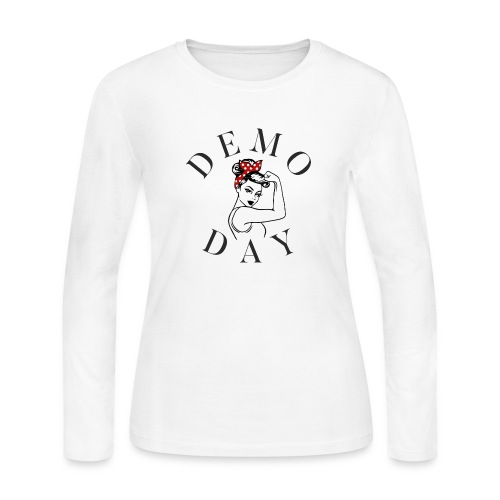 DEMO DAY - Women's Long Sleeve Jersey T-Shirt