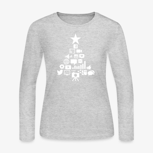 Social Blade Christmas Tr - Women's Long Sleeve Jersey T-Shirt