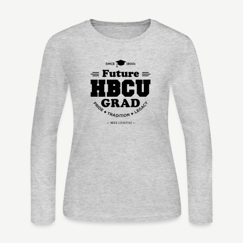 Future HBCU Grad Youth - Women's Long Sleeve Jersey T-Shirt