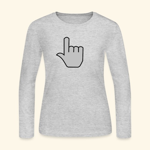 click - Women's Long Sleeve Jersey T-Shirt