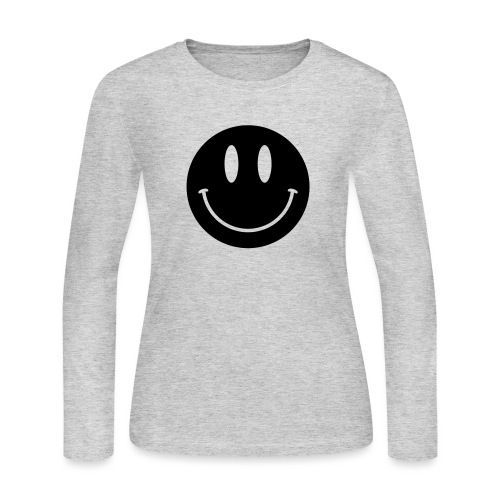Smiley - Women's Long Sleeve Jersey T-Shirt