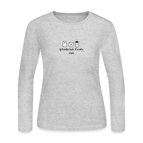 SMILE BACK - Women's Long Sleeve Jersey T-Shirt