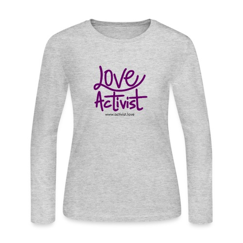 Love Activist - Women's Long Sleeve Jersey T-Shirt