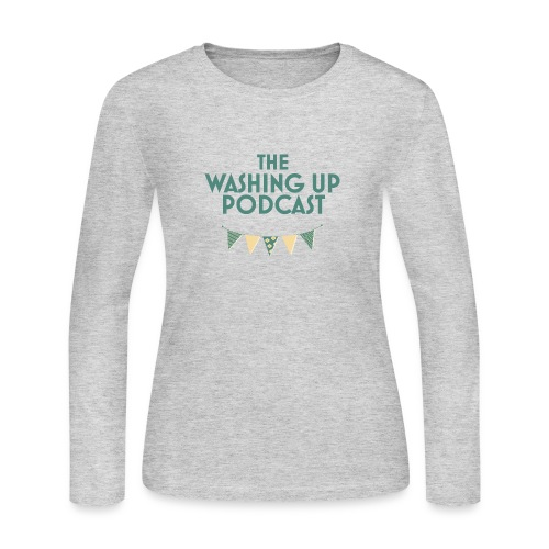 The Washing Up Podcast - Women's Long Sleeve Jersey T-Shirt