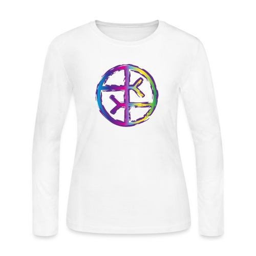Empath Symbol - Women's Long Sleeve Jersey T-Shirt