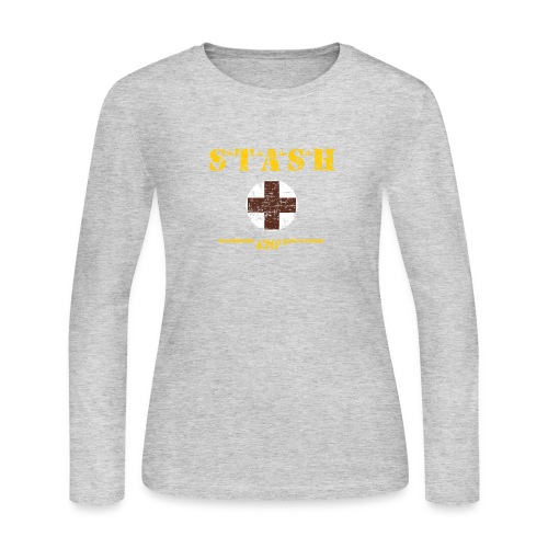 STASH-Final - Women's Long Sleeve Jersey T-Shirt