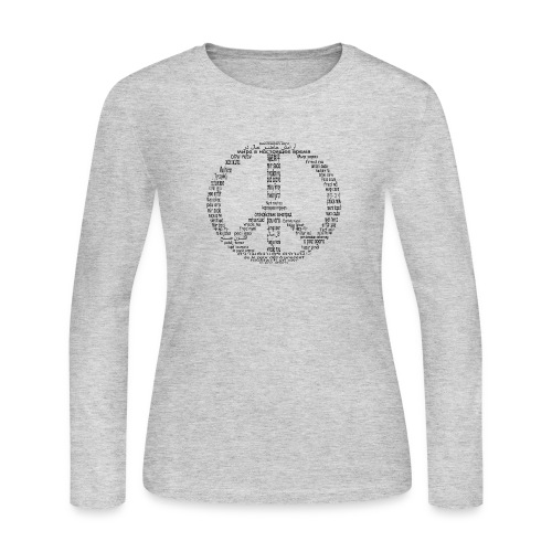 Peace Now - Women's Long Sleeve Jersey T-Shirt