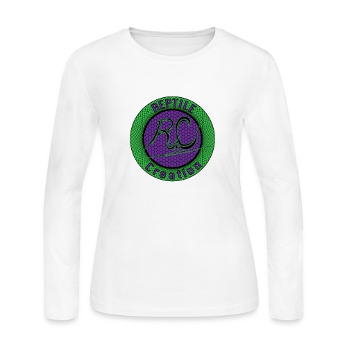 Reptile Creation Logo - Women's Long Sleeve Jersey T-Shirt
