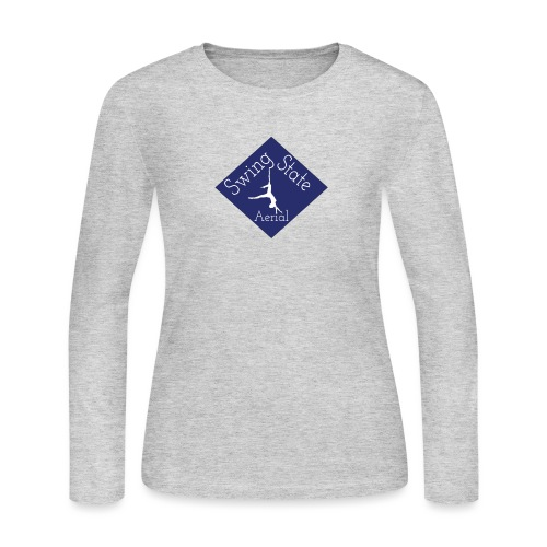 Large Swing State Logo - Women's Long Sleeve Jersey T-Shirt