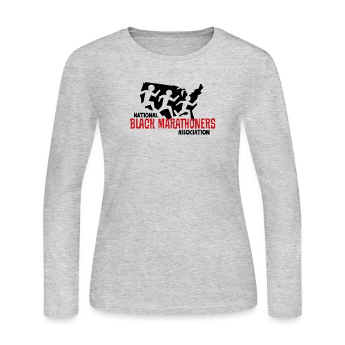 NBMA Logo Full Color - Women's Long Sleeve Jersey T-Shirt