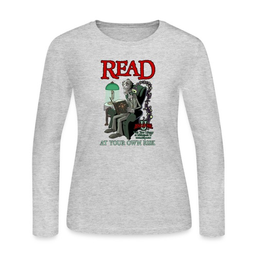 Read At Your Own Risk - Miskatonic U - Women's Long Sleeve Jersey T-Shirt
