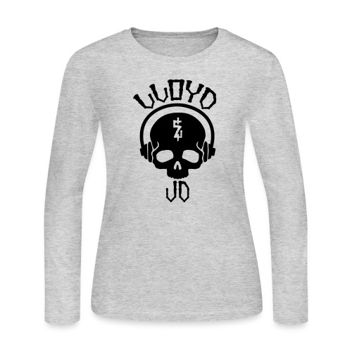 Lloyd JD Logo - Women's Long Sleeve Jersey T-Shirt