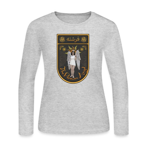 Persian Angel Anahita - Farsi Angel - Women's Long Sleeve Jersey T-Shirt