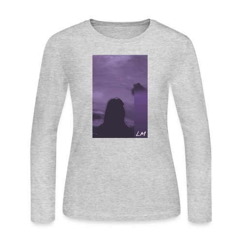 PURPLE PROMISE - Women's Long Sleeve Jersey T-Shirt