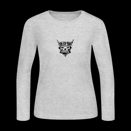 SDW Skull Small - Women's Long Sleeve Jersey T-Shirt