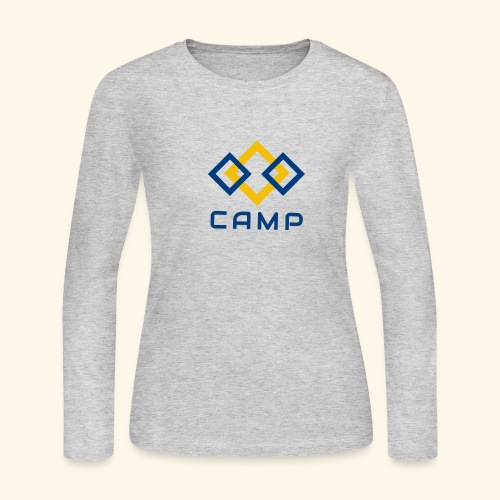 CAMP LOGO and products - Women's Long Sleeve Jersey T-Shirt