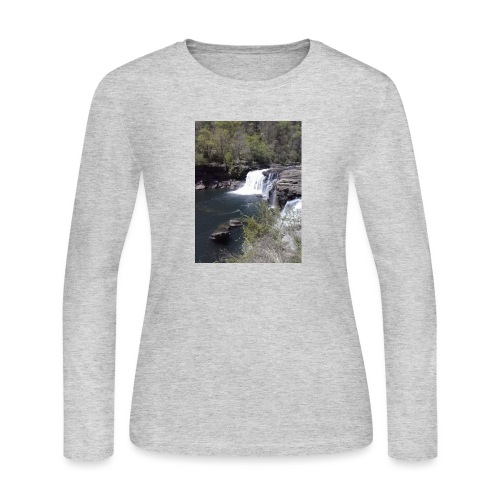LRC waterfall - Women's Long Sleeve Jersey T-Shirt