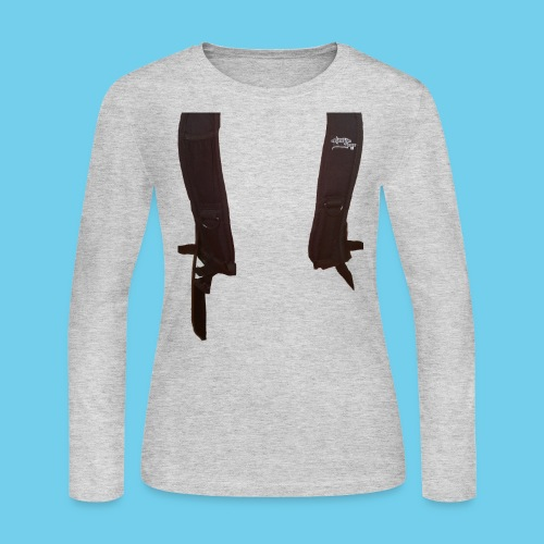 Backpack straps - Women's Long Sleeve Jersey T-Shirt