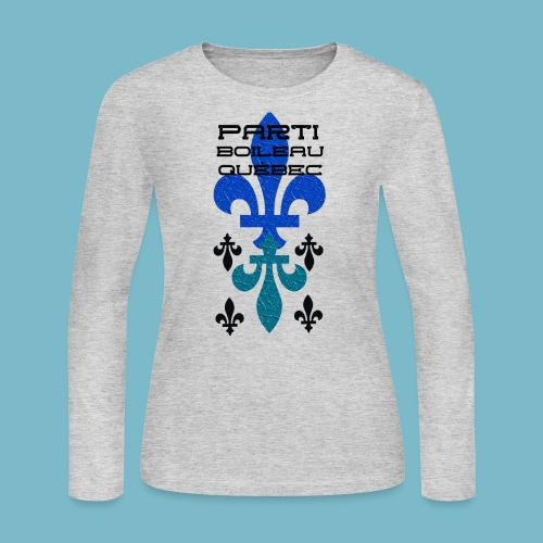 party boileau 9 - Women's Long Sleeve Jersey T-Shirt
