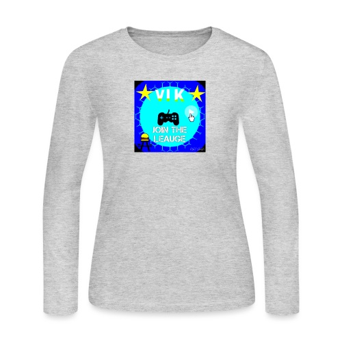 MInerVik Merch - Women's Long Sleeve Jersey T-Shirt