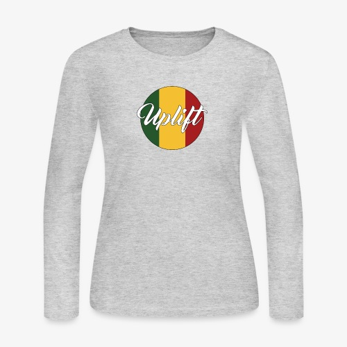 Uplift Rasta Basic // - Women's Long Sleeve Jersey T-Shirt