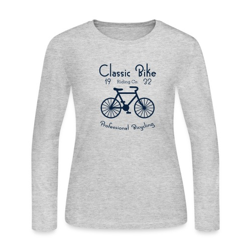 Classic Bike Professional Bicycling - Women's Long Sleeve Jersey T-Shirt