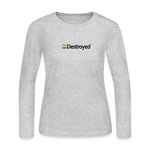 Polaroid Destroyed - Women's Long Sleeve Jersey T-Shirt
