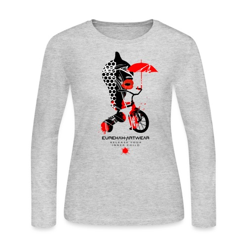 RELEASE YOUR INNER CHILD I - Women's Long Sleeve Jersey T-Shirt
