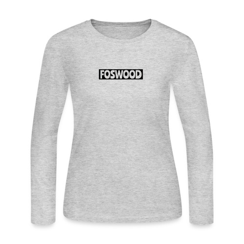 FOSWOOD - Women's Long Sleeve Jersey T-Shirt