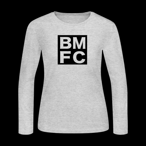 Black Man Fan Club | BMFC - Women's Long Sleeve Jersey T-Shirt