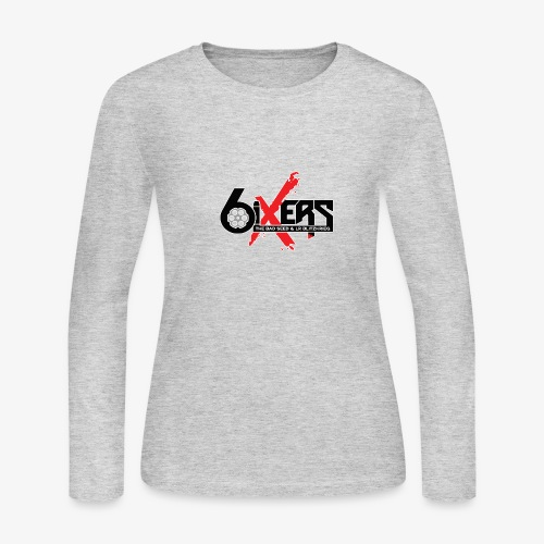 6ixersLogo - Women's Long Sleeve Jersey T-Shirt