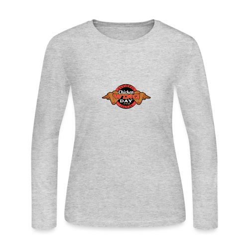 Chicken Wing Day - Women's Long Sleeve Jersey T-Shirt