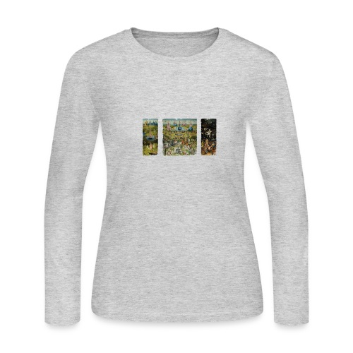 Garden Of Earthly Delights - Women's Long Sleeve Jersey T-Shirt