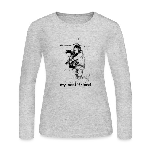My Best Friend (baby) - Women's Long Sleeve Jersey T-Shirt