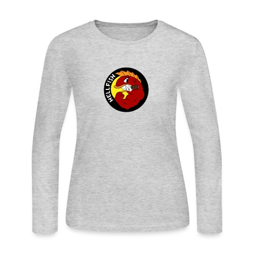 Hellfish - Flying Hellfish - Women's Long Sleeve Jersey T-Shirt