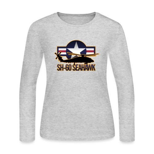 SH 60 sil jeffhobrath MUG - Women's Long Sleeve Jersey T-Shirt