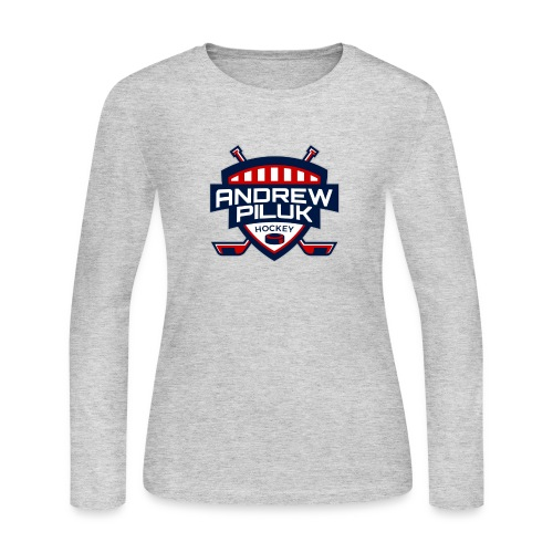 Andrew Piluk Hockey - Women's Long Sleeve Jersey T-Shirt