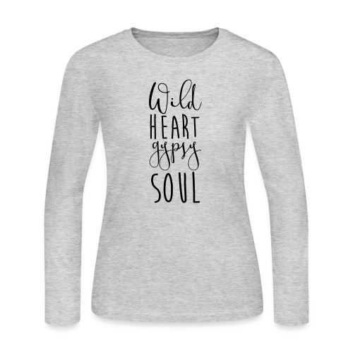 Cosmos 'Wild Heart Gypsy Sould' - Women's Long Sleeve Jersey T-Shirt