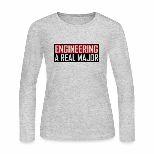 Engineering T-Shirts and Apparel - Women's Long Sleeve Jersey T-Shirt