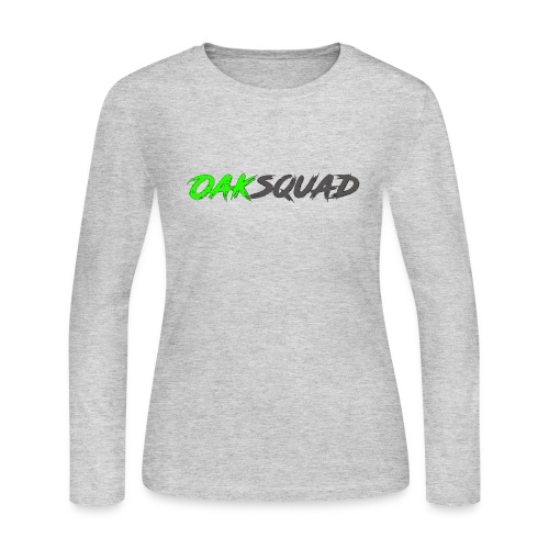 OakSquad - Women's Long Sleeve Jersey T-Shirt