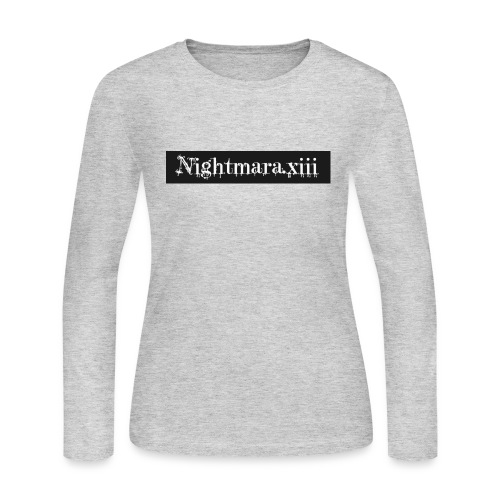 Nightmara logo written - Women's Long Sleeve Jersey T-Shirt