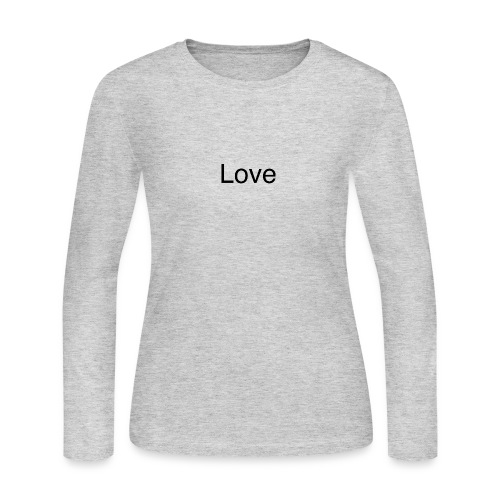 Love - Women's Long Sleeve Jersey T-Shirt