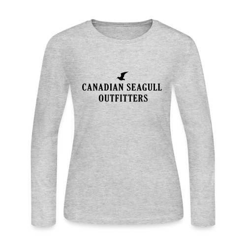 Canadian Seagull Outfitters - Women's Long Sleeve Jersey T-Shirt
