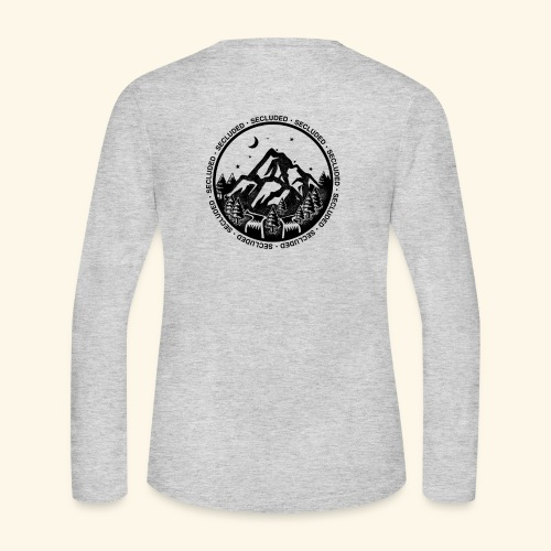 Bellingen Mountain Ranges - Women's Long Sleeve Jersey T-Shirt