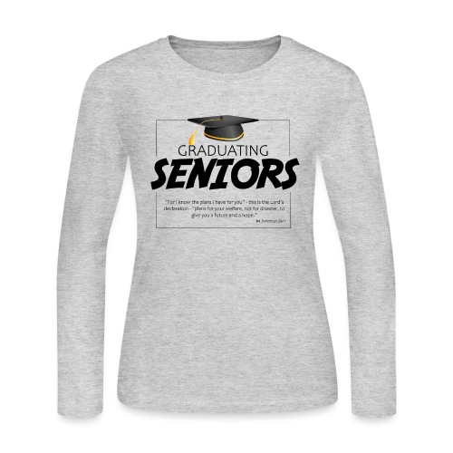 Graduating Seniors - Women's Long Sleeve Jersey T-Shirt