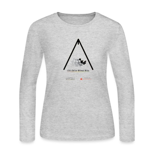 Life's better without wires: Swing - SELF - Women's Long Sleeve T-Shirt