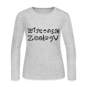 Wisconsin Zoology - Women's Long Sleeve Jersey T-Shirt