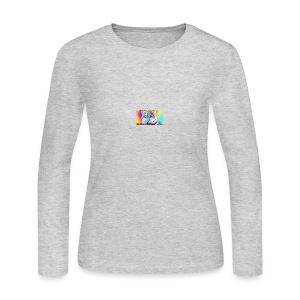 Rainbow Tiger Design Cases - Women's Long Sleeve Jersey T-Shirt